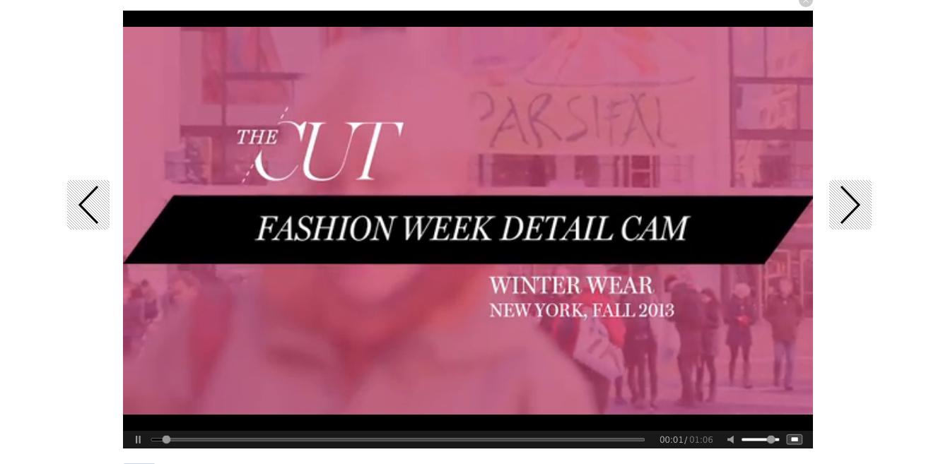 Videos Fashion Week  2013