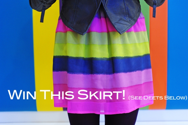 WIN this skirt!