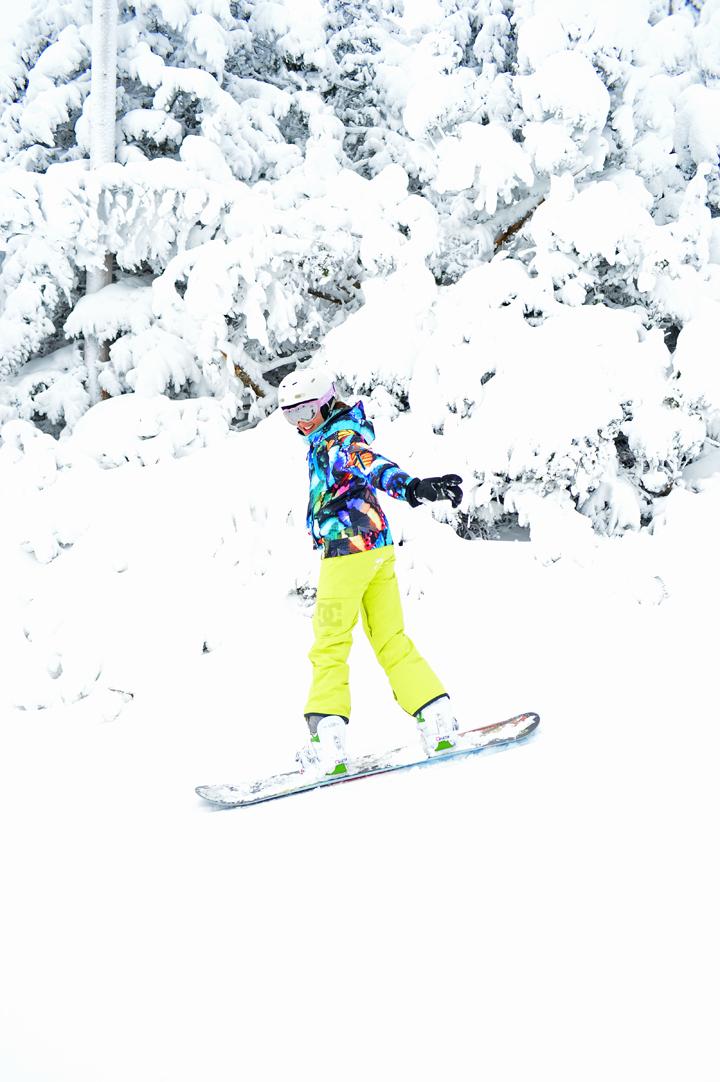Neon roxy snowboard pants