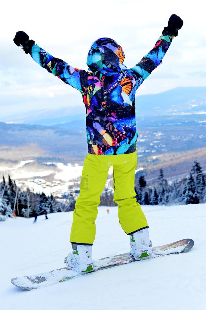 Roxy Snowboarding