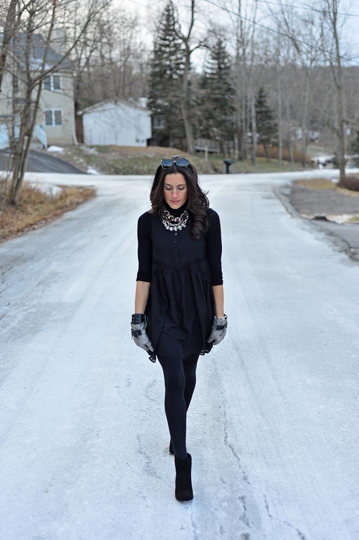 snow dress