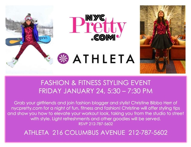Nycpretty & Athleta