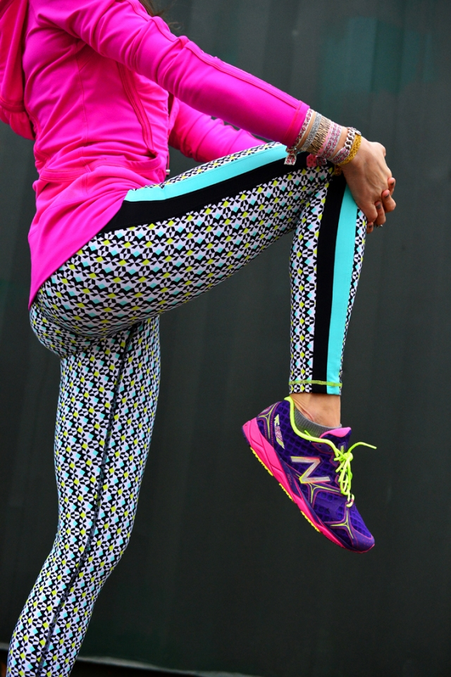 trina turk printed leggings
