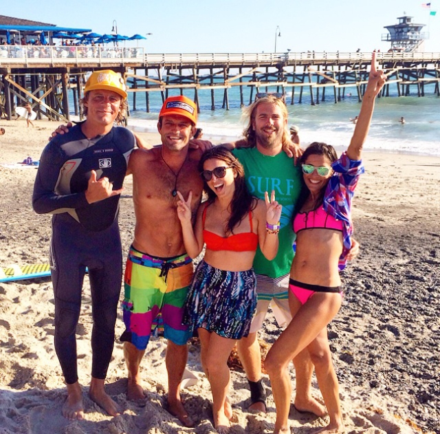 pro surfers