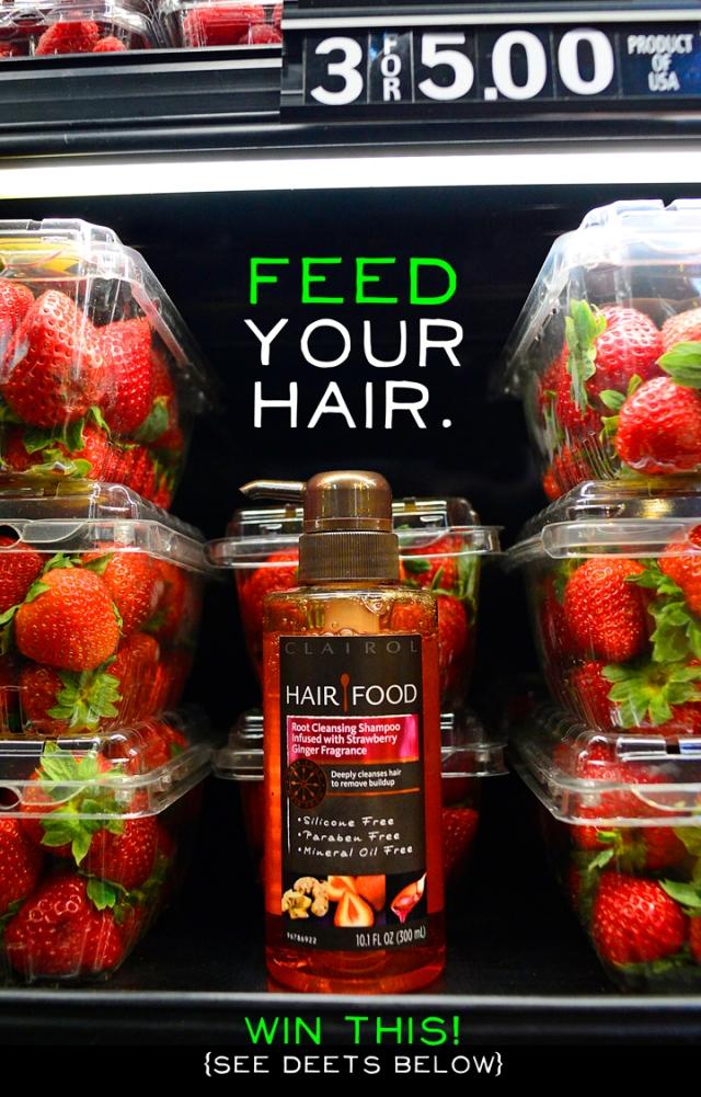 hair food giveaway