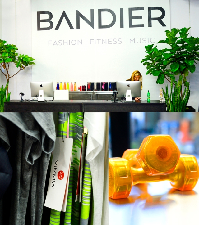 bandier fitness event